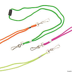 Nylon Neon Lanyards