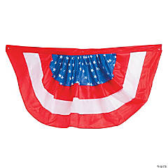 Nylon Patriotic Buntings