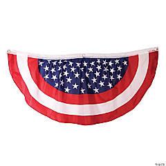 Nylon Patriotic Bunting
