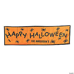Nylon Personalized Halloween Banner