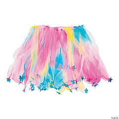 Nylon Rainbow Star Tutus