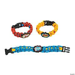 Nylon Superhero Paracord Bracelet Craft Kit