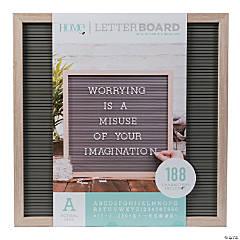 """Oak Letter Board Kit - 16"""""""