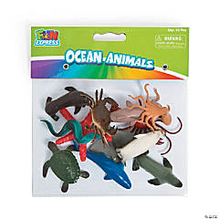 Ocean Animal Character Toys