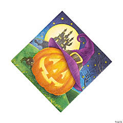 October Eve Luncheon Napkins