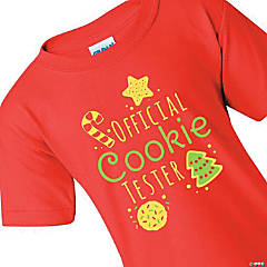 Official Cookie Tester Youth T-Shirt - Extra Large
