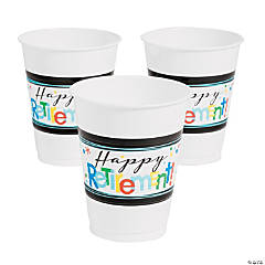 Officially Retired Party Cups