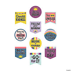 Oh Happy Day Positive Sayings Cutouts