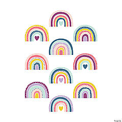 Oh Happy Day Rainbow Cutouts