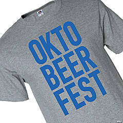 Okto-Beer-Fest Adult's T-Shirt - Small