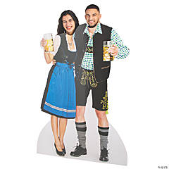 Oktoberfest Couple Photo Stand-Up