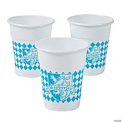 Oktoberfest Disposable Cups