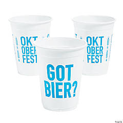 Oktoberfest Got Bier Disposable Cups