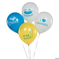 Oktoberfest Latex Balloons