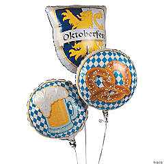 Oktoberfest Mylar Balloon Set