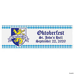 Oktoberfest Party Custom Banner - Medium