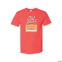 Old School Adult's T-Shirt - Large