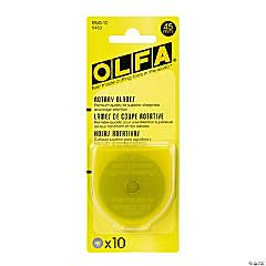 OLFA Rotary Blade Refill 45mm 10/Pkg