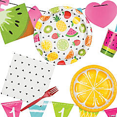 One In A Melon Tutti Fruitti Birthday Party Supplies