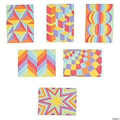 Optical Illusion Sand Art Pictures - 24 Pc.