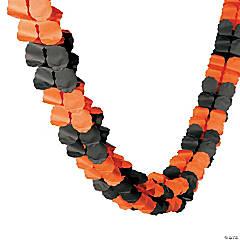 Orange & Black Garland