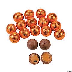 Orange Caramel Balls Chocolate Candy