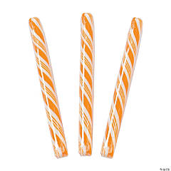 Orange Hard Candy Sticks