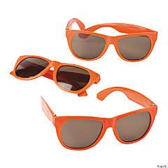 Orange Nomad Sunglasses