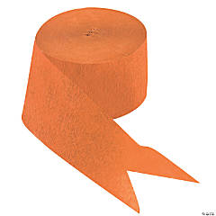 Orange Paper Streamers