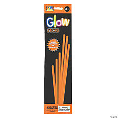Orange Preferred Glow Jewelry Sticks - 6 Pc.