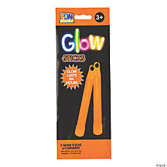 Orange Preferred Glow Sticks - 2 Pc.
