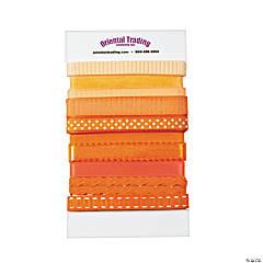 Orange Ribbon Assortment