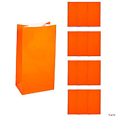 Orange Treat Bags