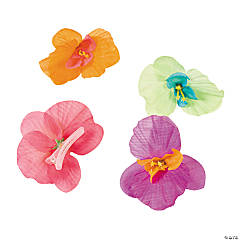 Orchid Hair Clips - Less Than Perfect