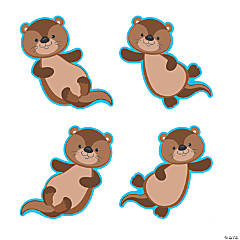 Otter Bulletin Board Cutouts