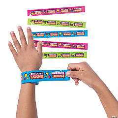 Our Class Rocks Slap Bracelets