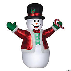 "Outdoor 101"" Giant Blow Up Inflatable Snowman"