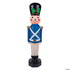 Outdoor Light-Up Blue Vintage Toy Soldier