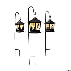 Outdoor Nativity Lanterns
