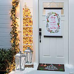 Outdoor Nativity Porch Decorating Kit