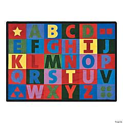 Oversize Alphabet® Classroom Rug