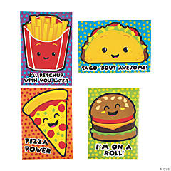 Oversized Funtastic Food Stickers