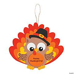 Owl Turkey Ornament Craft Kit