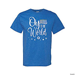 Oy to the World Adult's T-Shirt - 2XL
