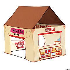 Pacific Play Tents 2-in-1 Lil' Grocery Store and Puppet Theatre House Tent