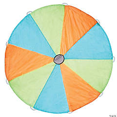 Pacific Play Tents Funchute 6FT Parachute - Blue / Green / Orange