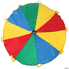 Pacific Play Tents Funchute 6FT Parachute - Blue / Green / Red / Yellow
