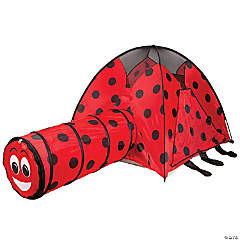 Pacific Play Tents Ladybug Tent and Tunnel Combo