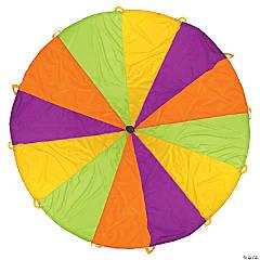 Pacific Play Tents Playchute 10FT Parachute - Green / Orange / Purple / Yellow
