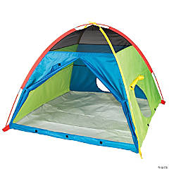 Pacific Play Tents Super Duper 4-Kid Dome Tent - Blue / Green / Red / Yellow